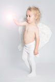 Jeune ange photographie stock libre de droits