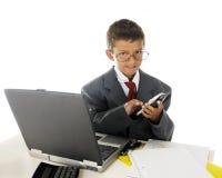 Jeune appel d'affaires Image stock