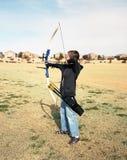 Jeune Archer Images stock