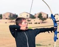 Jeune Archer Image stock