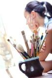 Jeune artiste Photo libre de droits