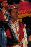 Jeune artst en Inde Photo libre de droits