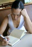 Jeune auteur Image libre de droits