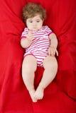 Jeune bébé étendu Photographie stock libre de droits