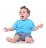 Jeune bébé Images libres de droits