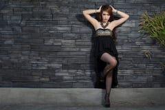Jeune beau modèle asiatique Photographie stock libre de droits