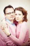 Jeune beau sourire heureux de couples Images libres de droits