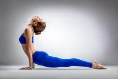 La femme de yoga photo libre de droits