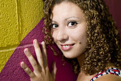 Jeune beauté arabe Photographie stock libre de droits