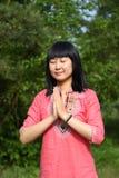 Jeune beauté asiatique Images libres de droits