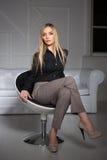 Jeune belle blonde image libre de droits