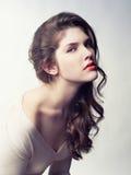 Jeune belle dame Image stock