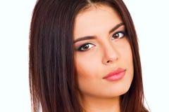 Jeune belle femme Images libres de droits