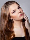 Jeune belle femme Image stock