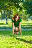 Jeune belle femme photo libre de droits