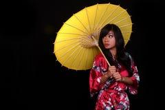 Jeune belle femme asiatique images libres de droits
