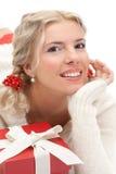 Jeune belle femme blonde photo stock