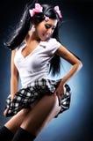 Jeune belle femme japonaise image stock