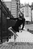 Jeune belle fille Mode de rue Photos stock