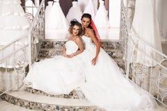 Jeune belle jeune mariée Photographie stock libre de droits