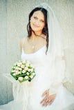 Jeune belle mariée Images stock
