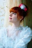 Jeune belle mariée photos libres de droits