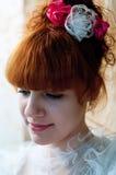 Jeune belle mariée image libre de droits