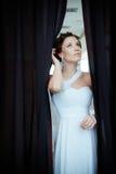 Jeune belle mariée Photographie stock libre de droits