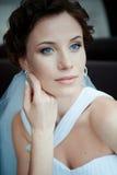 Jeune belle mariée Image stock