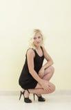 Jeune blond attrayant image libre de droits