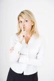 Jeune blonde Photographie stock libre de droits