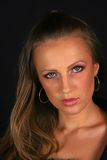 Jeune blondie photo stock