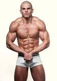 Jeune bodybuilder photos stock