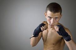 Jeune boxeur Photo libre de droits