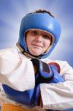 Jeune boxeur Images libres de droits