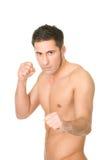Jeune boxeur musculaire photos stock