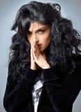 Jeune brunette magnifique photos stock