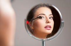 Jeune brunette magnifique image libre de droits