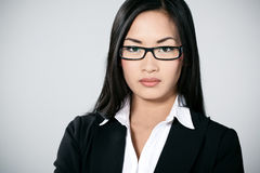 Jeune busineswoman asiatique Photographie stock
