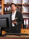 Jeune cadre d'affaires Images libres de droits