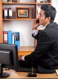 Jeune cadre d'affaires Image stock