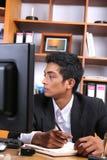 Jeune cadre d'affaires photographie stock libre de droits