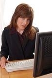 Jeune cadre d'affaires attirant Image stock