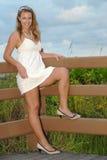 Jeune chéri de plage Image stock