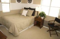 Jeune chambre à coucher d'étudiants Images stock