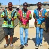 Jeune chanteur de rue Photographie stock libre de droits
