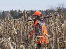 Jeune chasseur Image libre de droits
