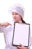 Jeune chef Image stock