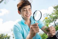 Jeune chercheur Images stock