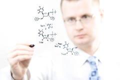 Jeune chimiste Images stock
